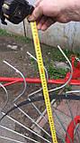 Граблі ворушилки Сонечко на 5 коліс спиця ∅6 мм на трактор Грабарка, гребка, сінограбарка, фото 3