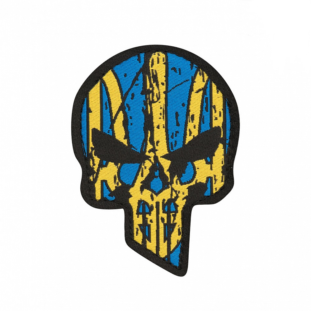 M-Tac нашивка Ukrainian Punisher (жаккард)