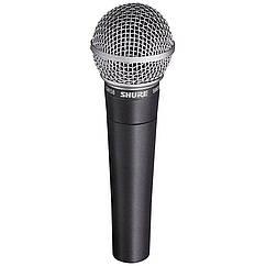 Микрофон Shure SM58-LCE профессиональный динамический микрофон