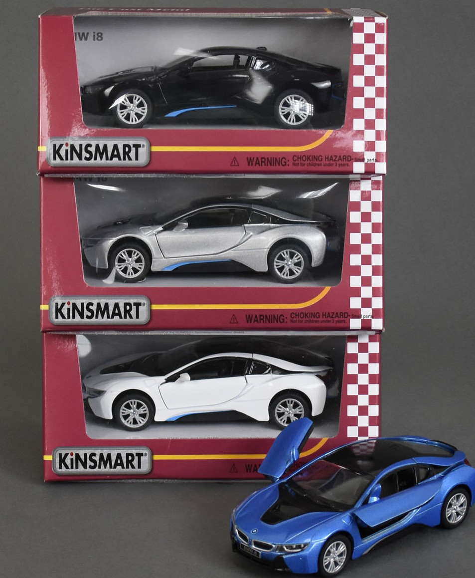Машина метал. 5379W Kinsmart BMW I8