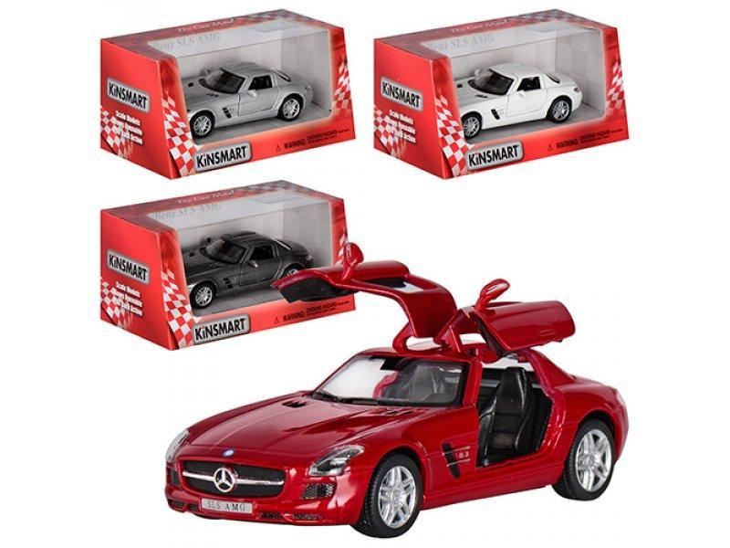 "Машина метал. ""Kinsmart"" Mercedes-Benz SLS AMG KT-5349-W"