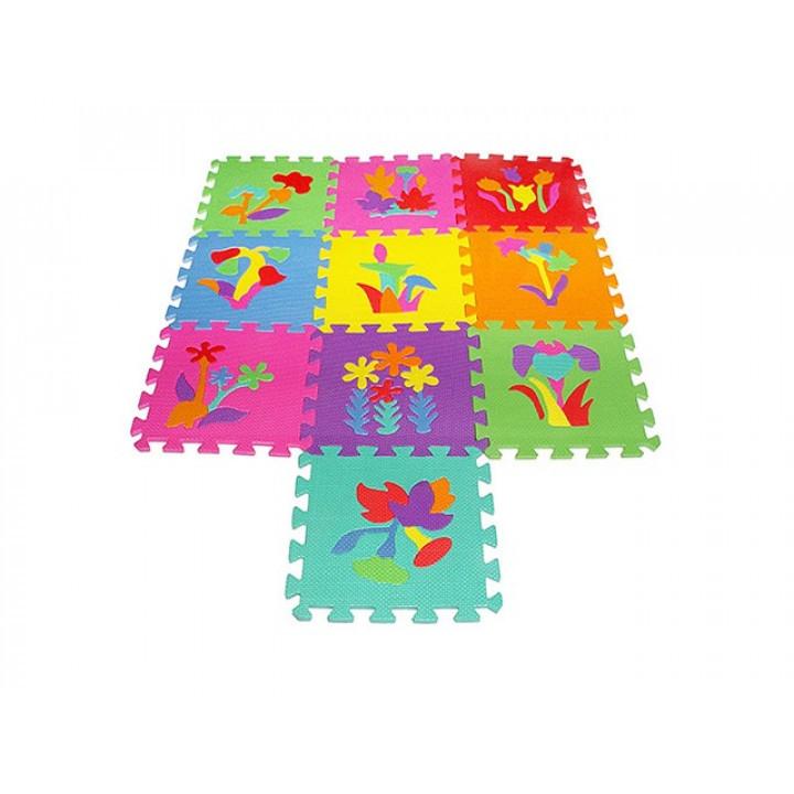 Коврик-мозаика, 10 дет. Растения, EVA, M0386