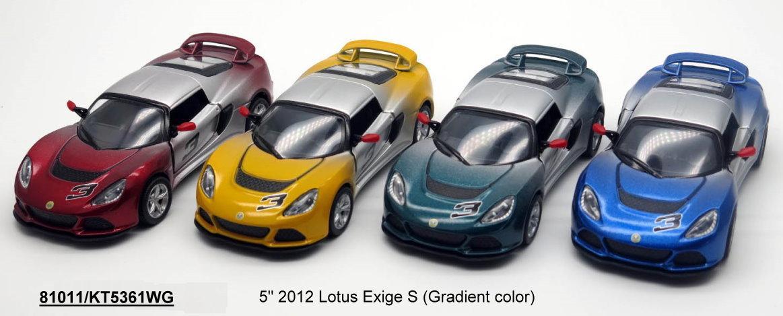 "Машина металл. ""Kinsmart"" Lotus Exige S, KT5361WG"