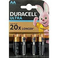 Батарейки Duracell індикатор заряду Ultra Power LR-06/блістер 4шт