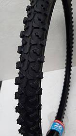 Покришка на велосипед 26*1,95 дюймів з камерою. Deestone Великий Шип. Нейлон. 26*1.95 (50-559).