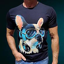 Футболка Advanced Dog Blue темно-синій