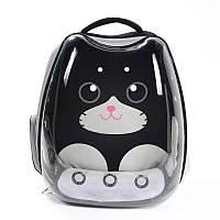 Рюкзак переноска для кошек и собак прозрачный