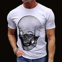 Футболка Skull Smiley White
