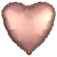 Р 9' Серце рожеве золото (3204-0771)
