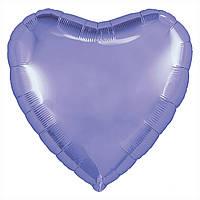 Р 9' Серце Пастель фіолетове (3204-0770)