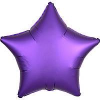 А Б/РИС 18' ЗВЕЗДА Сатин Фиолетовая S15 (3204-0073)