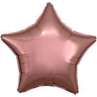 А Б/РИС ЗВЕЗДА 18' Металлик Розовое золото S15 (3204-0023)