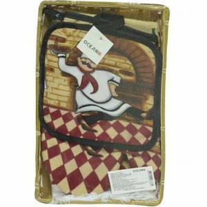 Кухонный набор Оселя Повар 71-72-036 3 предмета
