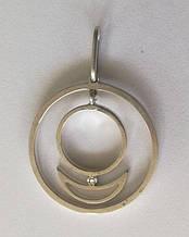 Подвес-кулон Аллат-Ра АРЦ, серебро 925 пробы, цирконий