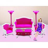 Мебель для куклы ББ Гостиная B-3017