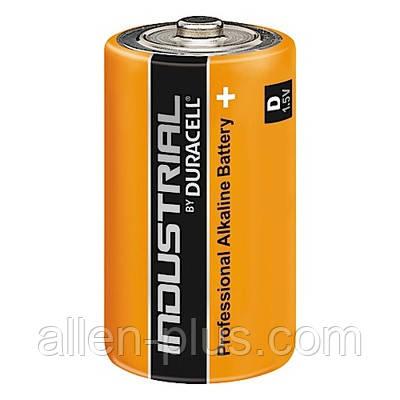 Лужна Батарейка DURACELL INDUSTRIAL LR20/D, 1шт, без пакування