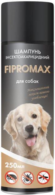 Шампунь Fipromax від бліх (з пропоскуром) для собак середніх та великих порід 250мл