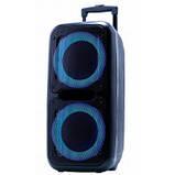 Колонка чемодан с микрофоном караоке 60 Вт GOLDTELLER GT-6032, фото 2