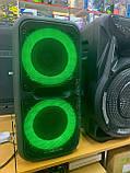 Колонка валізу з мікрофоном караоке 60 Вт GOLDTELLER GT-6032, фото 6