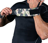 Фиксаторы запястья атлетические SKDK камуфляжные Зеленый Камуфляж