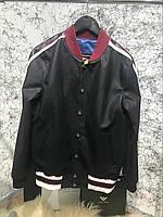 Куртка Gucci Bomber With Appliqué Black