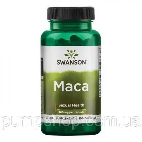 Для повышения тестостерона Swanson Full Spectrum Maca 500 мг 100 капс.