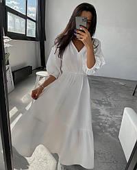 Женское воздушное легкое платье