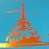 Шкільний щоденник обкладинка, Soft touch, Париж, фото 3