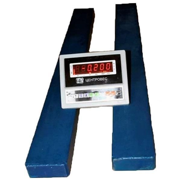 Весы стержневые ВПЕ-Центровес-1С-Э (1000 кг)