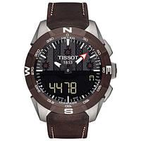 Мужские Часы Tissot T-Touch Expert Solar T110.420.46.051.00 100m Ceramic Titanium Limited Edition
