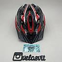 Шлем велосипедный красный, фото 4