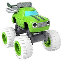Машинка Огурчик Вспыш и чудо-машинки Fisher-PriceBlaze and The Monster Machines Monster diecast Vehicle