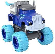 Крушила и Вспыш и чудо-машинки Fisher-Price Blaze and The Monster Machines Monster Crusher diecast Vehicle