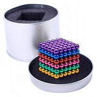 Магнитная игрушка Neocube Цветной в цилиндр боксе