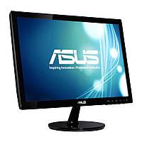 """Монітор 19"""" (18.5) 1366*768 Asus VS197DE LED 90/65 яр.200 кін.50M 5мс VGA чорний бу"""