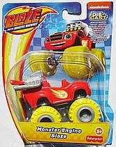Вспыш и чудо-машинки Fisher-Price Blaze and The Monster Machines Monster diecast Vehicle