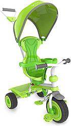 Трехколесный Детский велосипед трайк Y STROLLY Spin 2 в 1 зеленый trike (100835)