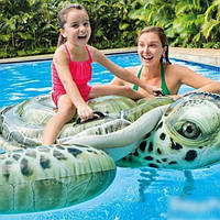 Надувная игрушка - плот Черепаха 191x170 см,  Intex 57555