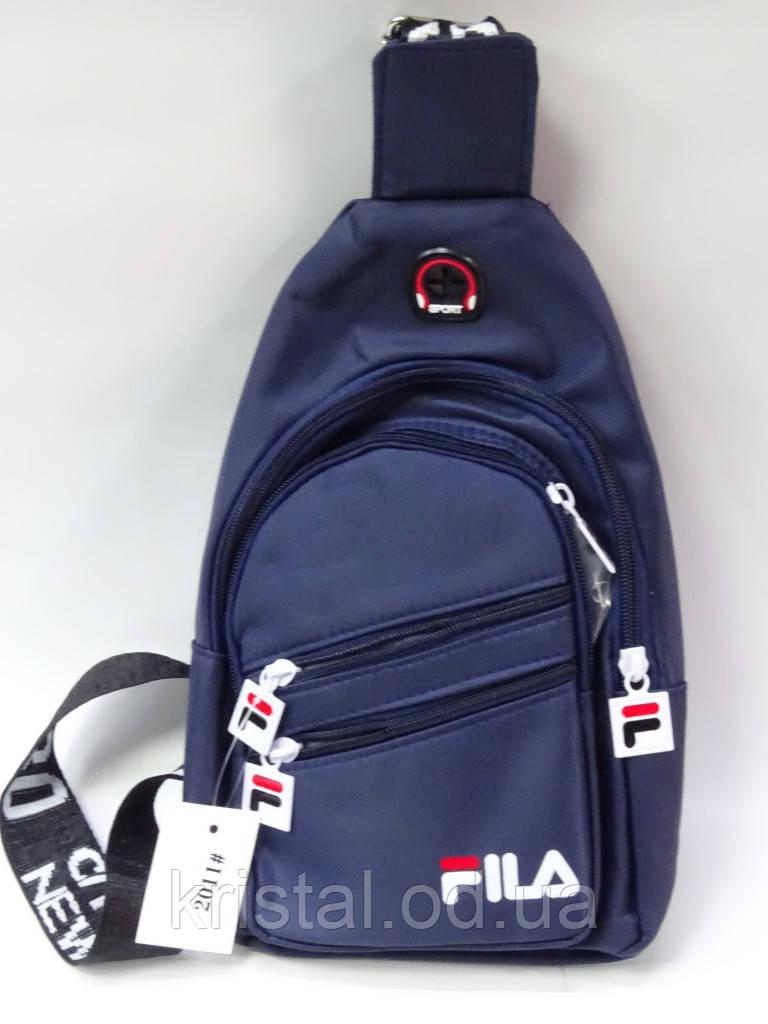 """Мужская нагрудная сумка слинг оптом 16*30 см. серии """"Premium"""" №6783"""