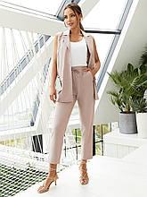 Костюм двойка жилет + укороченные брюки