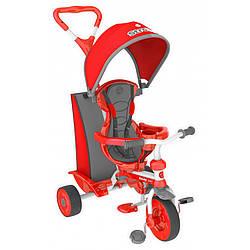 Трехколесный Детский велосипед трайк Y STROLLY Spin 2 в 1 красный trike (100836)