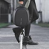 Рюкзак Bobby Elle с защитой от карманников, черный, фото 5