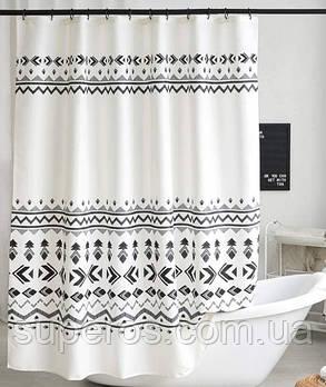 Тканинна шторка для ванни і душа 180х200 см Tikal