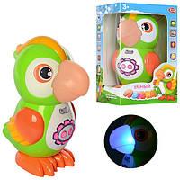 Детская интерактивная игрушка умный попугай 7496 (сказки)