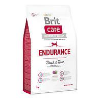 Brit Care Dog Endurance 3кг гіпоалергенний корм з качкою для собак