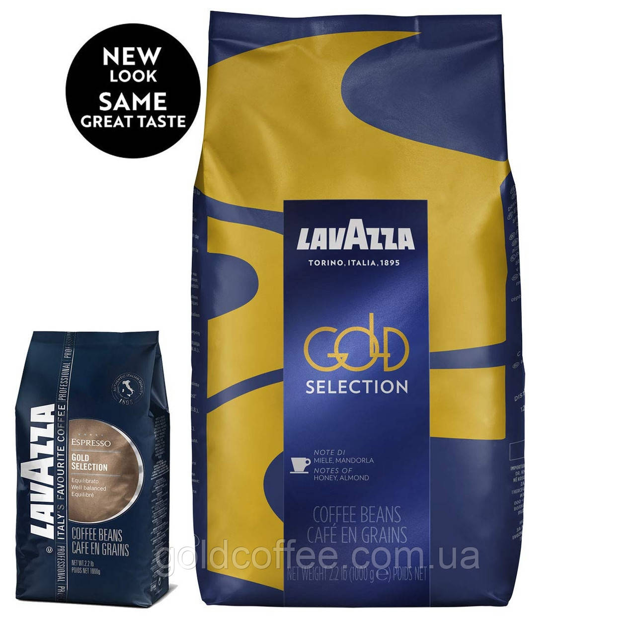 Кофе в зернах Lavazza Gold Selection 1000г