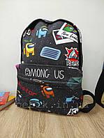 Детский рюкзачок для мальчиков с принтом Among Us
