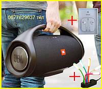 Портативная JBL Boombox BIG 40W 10000mAh с Ручкой колонка Джбл Бумбокс Биг Bluetooth БОЛЬШАЯ Блютуз Xtreme BIG
