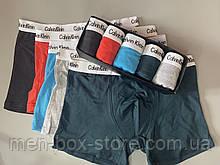 Трусы мужские боксеры Calvin Klein 4 шт набор без подарочной упаковки трусы мужские труси боксери 2 XXL