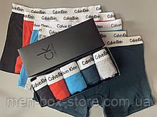 Мужские трусы боксеры в фирменной подарочной упаковке 4 шт. Трусы транки боксеры шорты  мужские 3